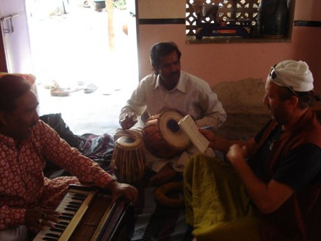 Qawali class at Ali brother's home in Ajmer